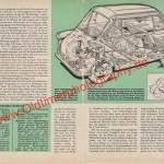 Zündapp Janus Bericht mit Daten - Zündapp Werbung von 1958 Seite 40-41