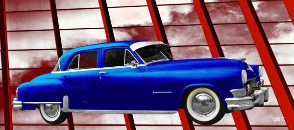 1952 Chrysler Imperial in blue