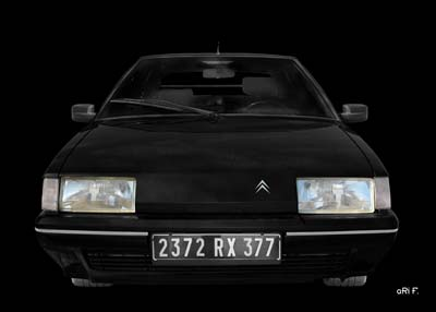Citroen BX in black