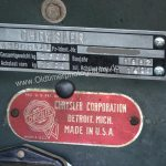 Chrysler Imperial Typenschild