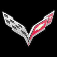 Logo Corvette C7 Stingray seit 2013