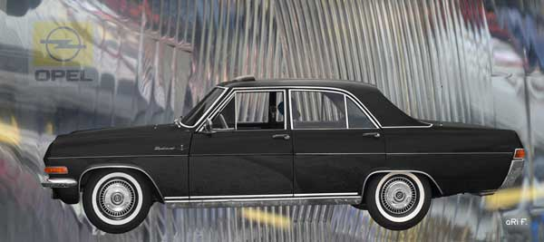 Opel Diplomat A in black side view V2_5138-01