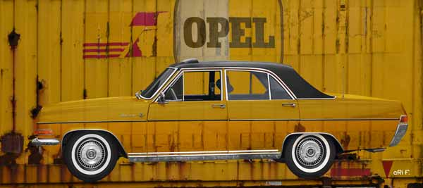 Opel Diplomat A published on Container