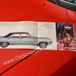 Opel Diplomat A Verkaufsbroschüre Innenseiten