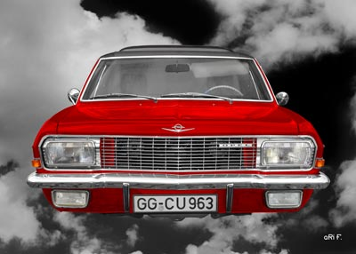 Opel Diplomat A Aero in red