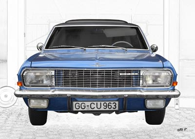 Opel Diplomat A in Originalfarbe