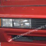 BMW 850i Detailansicht auf Blinker, Standlicht und Nebelscheinwerfer