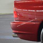 BMW 850i Detailansicht auf Heckbleuchtung