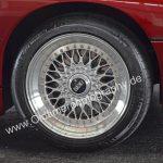 BMW 850i mit Michelin Pilot Sport 235/45 ZR17 Reifen und BBS RC Felgen