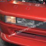 BMW 850i Detailansicht auf Zusatzscheinwerfer