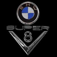 Logo BMW 502 V8 Super