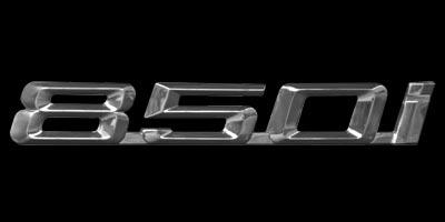 Logo BMW 850i (1989-1999)