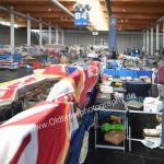 Messehalle für Ersatzteile Autobücher, Autospielzeug, Kleidung und Zubehör