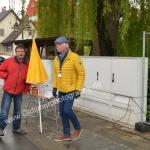 Reiner Künzel und Eberhard Göcke die beiden Organisatoren des Oldtimertreffens