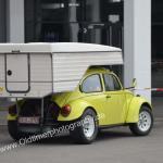 VW Käfer mit Alkoven-Aufbau