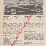 BMW 3.2 2.6 Prototyp Werbung von 1959