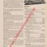 BMW 501 V8 2.6 Liter Seite 659 Motor-Rundschau August 1954
