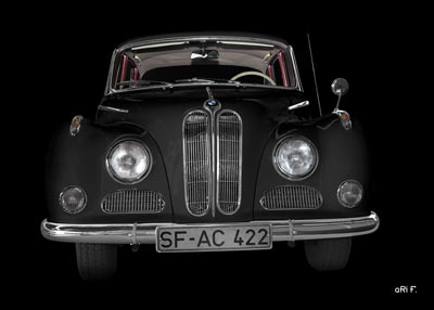 BMW 502 in black pur