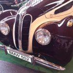 BMW 502 Frontdetail
