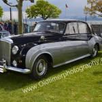 Bentley S2 auf einem Oldtimertreffen am Bodensee
