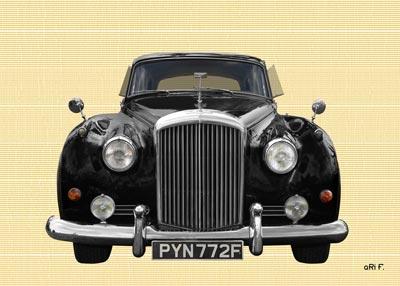 Bentley S2 in black & chamoise