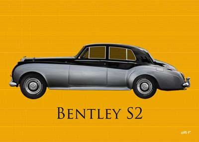 Bentley S2 in original color