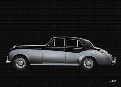 Bentley S2 side view in origianl color