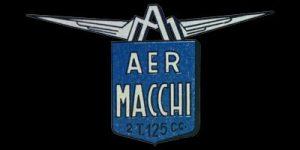Logo Aer Macchi auf Aermacchi Cigno Modelo N 125ccm von 1953