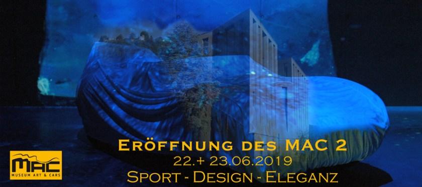 Eröffnung MAC2 Museum Art & Cars