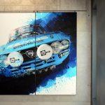 MAC2 mit Sportwagen von Die Bilderbuben Fotograf Ben Wiesenfarth und Grafikdesigner Guido Herrmann