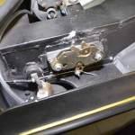Lamborghini Espada Öffnungsmechanismus für die Motorhaube