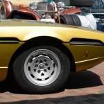 Lamborghini Espada GT die linke schwarze Griffmulde Aussparung dient zum öffnen der Motorhaube