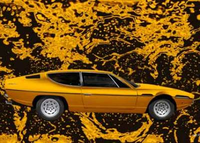 Lamborghini Espada Art Car