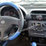 Opel Tigra Interieur, Klimanlage war nicht erhältlich angesichts der großen, flachen Front- und Heckscheiben
