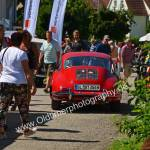 Porsche 356 auf Platzsuche beim Oldtimertreffen Obereisenbach