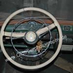 Mercedes-Benz W 105 Armaturentafel und Lenkrad in weißer Farbe