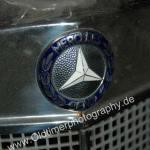 Mercedes-Benz 219 Kühlergrill mit integriertem Mercedes-Benz Logo