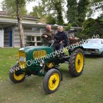 Güldner Traktor bei der Einfahrt zur Kressbronn Classics