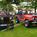 Jeep klein und groß