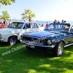 Plymouth Valiant und Ford Mustang
