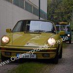 Porsche 911 G-Modell bei der Einfahrt zur 6. Kressbronn Classics