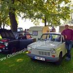 Trabant 601 beide mit Wohnanhänger