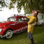 VW Käfer 1300 mit Eriba Puck aus Freude am Fahren