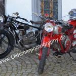 Classic Bikes beim Oldtimertreffen in Meßkirch