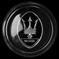 Logo Maserati Quattroporte III auf Hupe