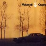 Maserati Quattroporte III Verkaufsprospekt vom Juni 1979 Seite 1