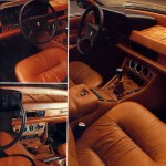 Maserati Quattroporte III Verkaufsprospekt vom Juni 1979 Seite 7
