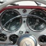 Mercedes-Benz 190 SL Armaturen mit großen Rundinstrumenten