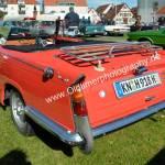 Triumph Herald 1200 Cabriolet Heckansicht