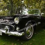 1957 Ford Thunderbird in black